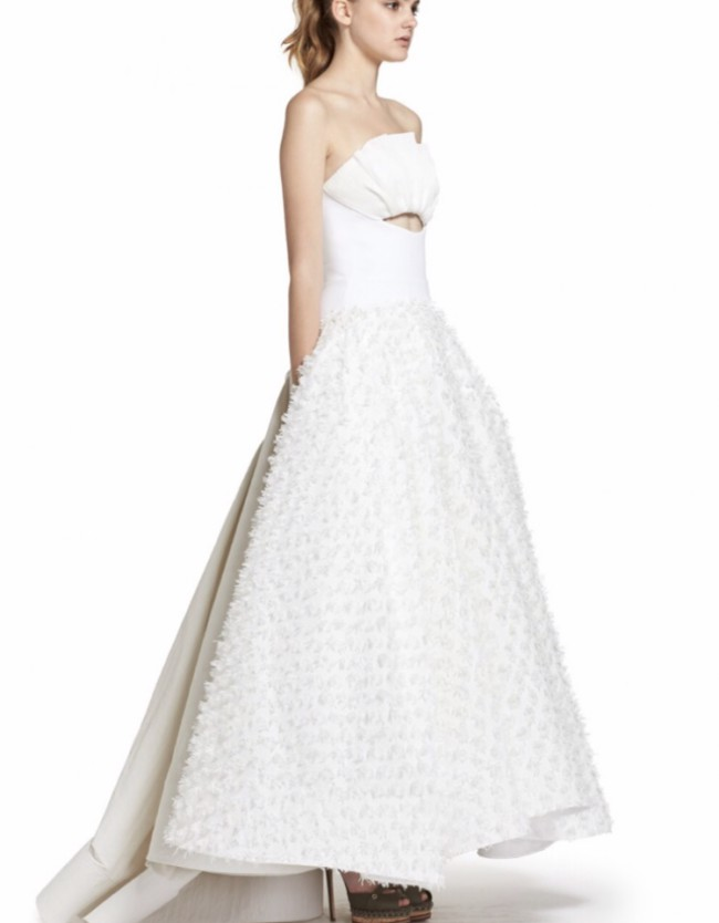 Toni Maticevski Willow gown New Wedding Dress on Sale 73% Off ...