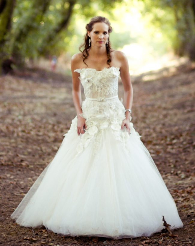 Kobus Dippenaar Anna Georgina Couture Bridal Collection - Flora ...