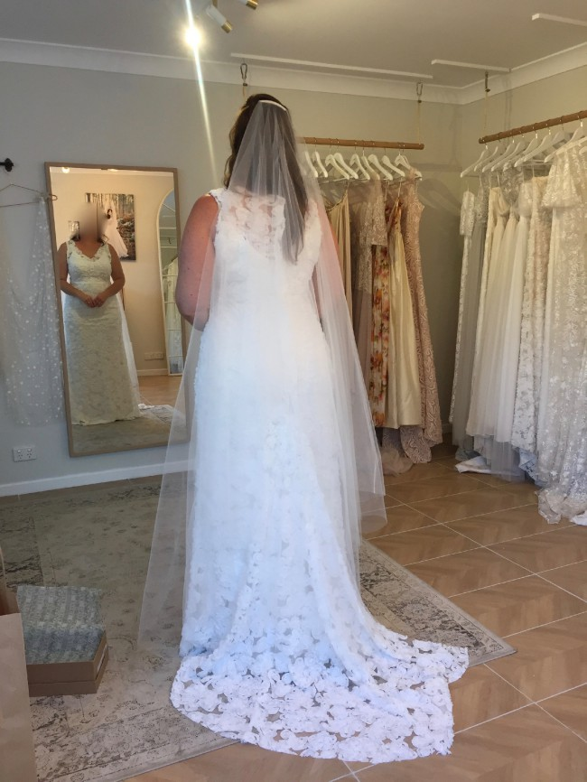 Jennifer Gifford Vivienne Used Wedding Dress on Sale 50% Off