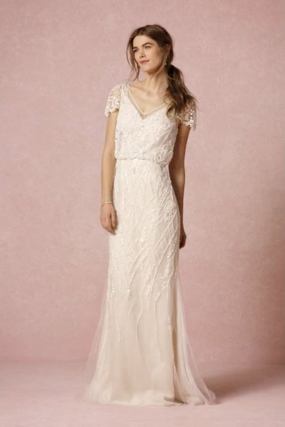 Make sure to show off your curves in our used bhldn wedding dress. Get one in every color or choose from a wide variety.