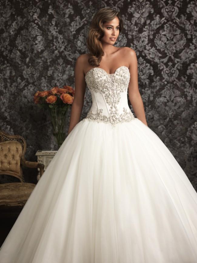 Allure Bridals 9017 New Wedding Dress on Sale 68% Off