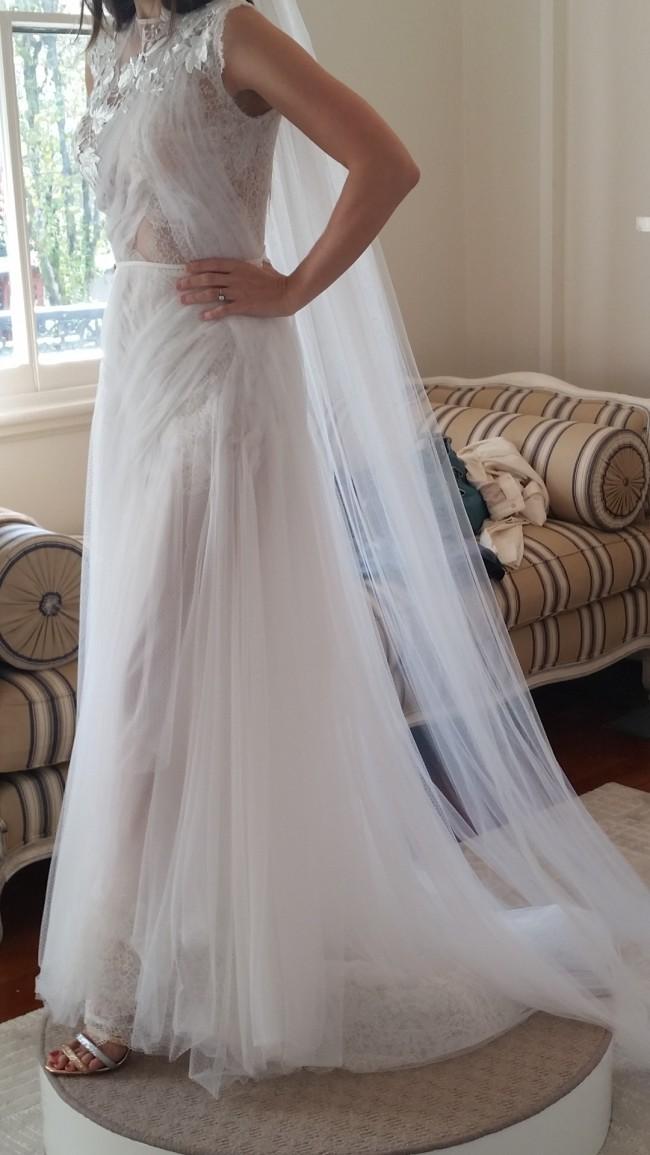 Yolan cris laos pre owned wedding dress on sale 53 off for Laos wedding dress for sale