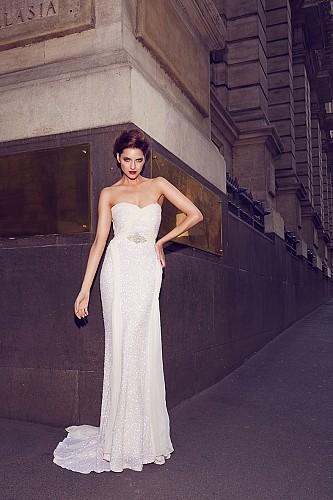 Karen Willis Holmes Taylor Wedding Dress On Sale 20 Off
