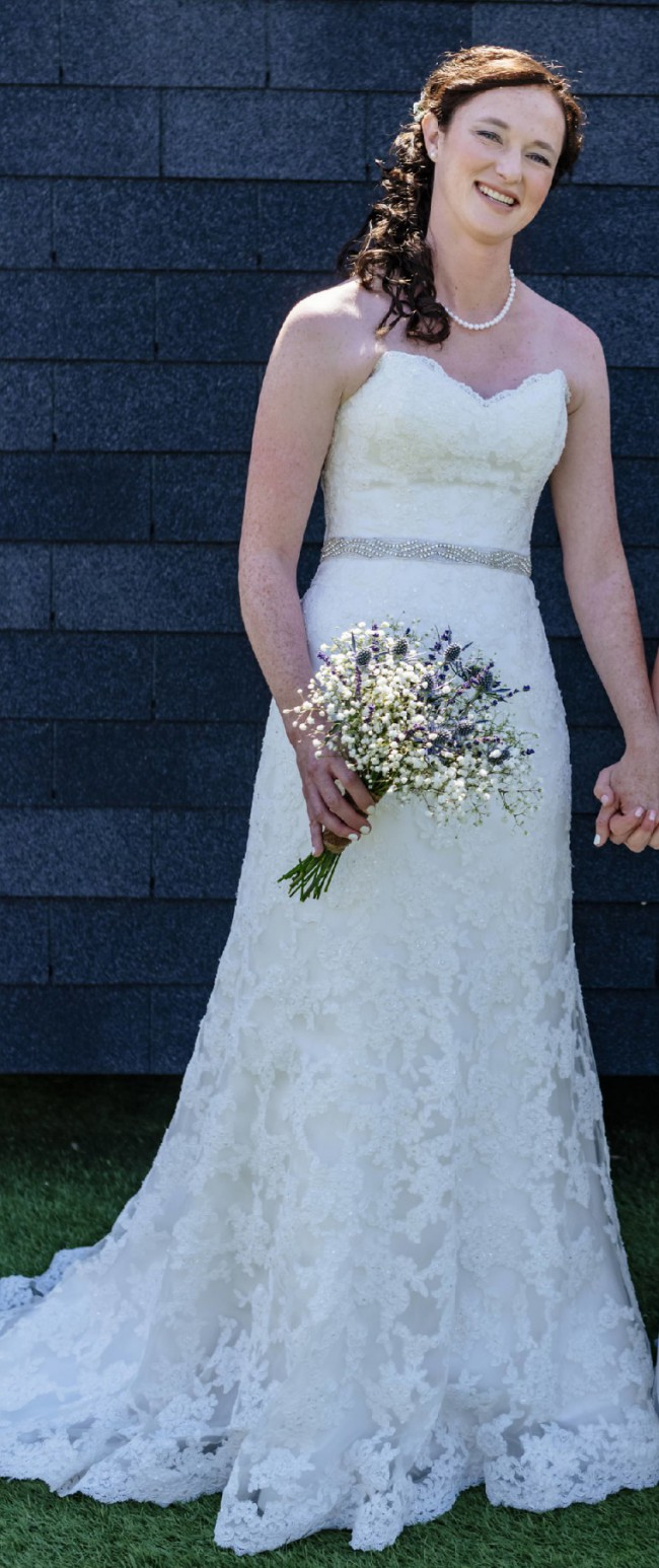Maggie Sottero S5300 Second-Hand Wedding Dress on Sale 66% Off