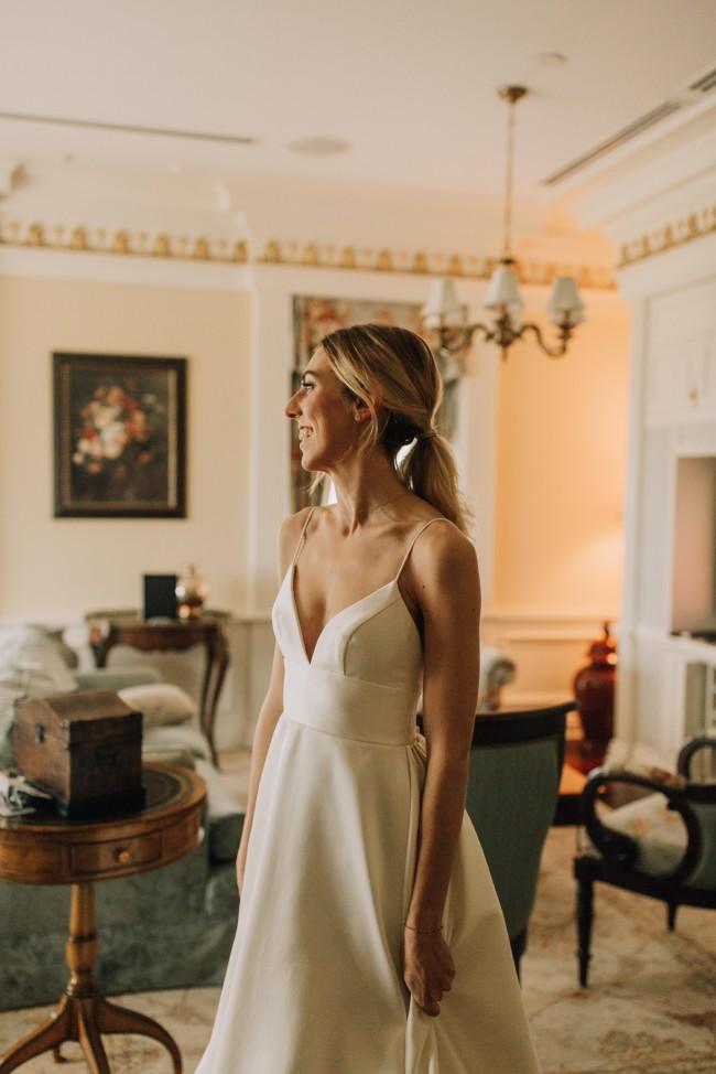 Bhldn Opaline Ballgown Second Hand Wedding Dress On Sale