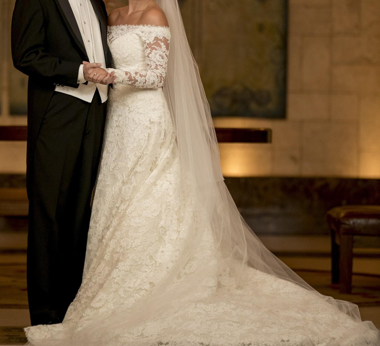 Silvia Tcherassi Custom Made Second Hand Wedding Dress On