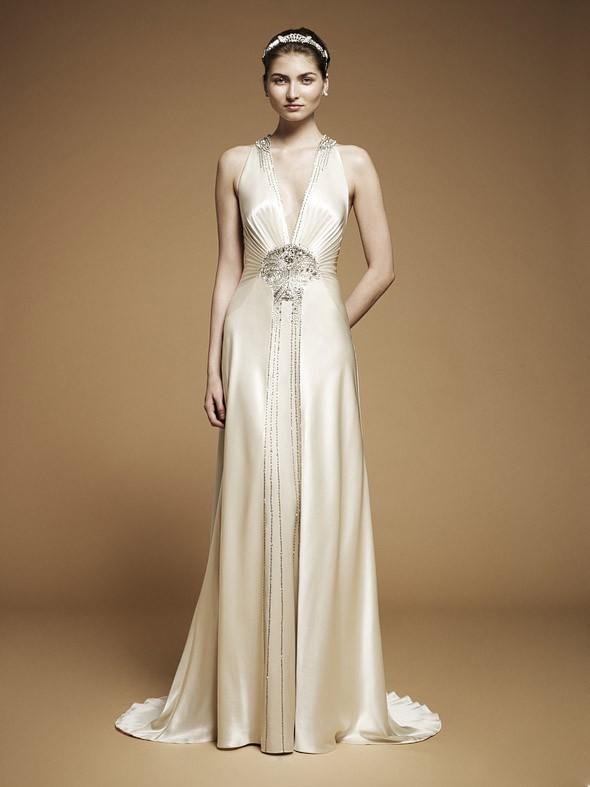 Jenny packham imari second hand wedding dress on sale 56 off for Jenny beckman wedding dresses