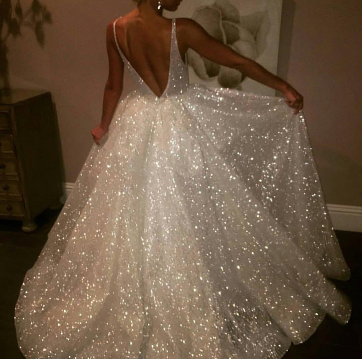 Lazaro Cinderella or style 3662 Used Wedding Dress on Sale ...