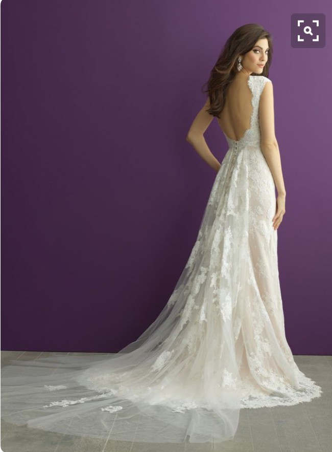 Allure Romance 2968 PreOwned Wedding Dress on Sale 52% Off
