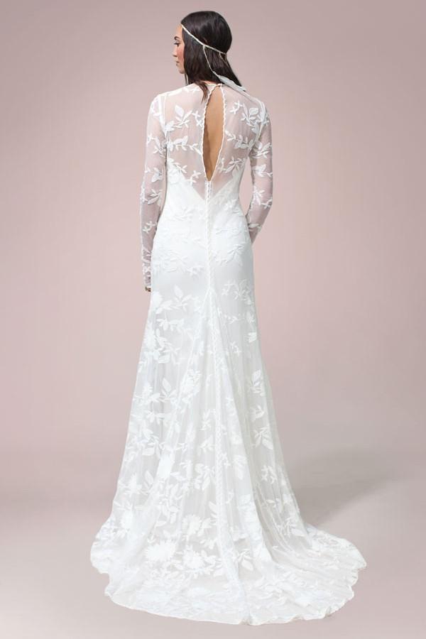 Rue De Seine Chloe Wedding Dress On Sale 48 Off