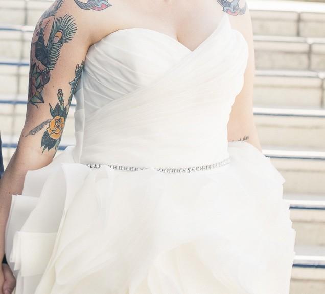 Maggie Sottero Juliette Preowned Wedding Dress On Sale 43