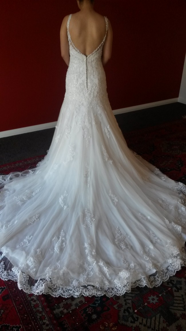 Maggie sottero haute couture wedding dress on sale 77 off for Haute couture dress price