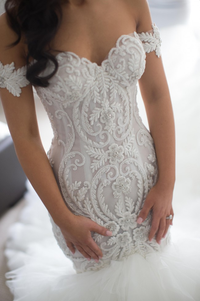 Steven khalil second hand wedding dress on sale 33 off for Steven khalil mermaid wedding dress