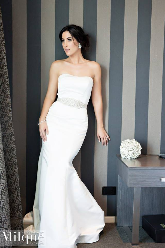 Michelle Roth Millie Pre-Owned Wedding Dress on Sale 66% Off