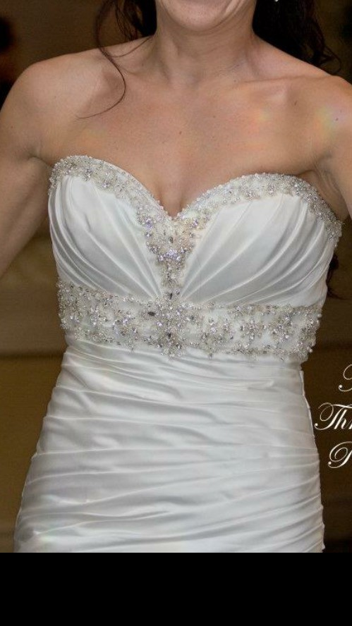 Morilee 1653 second hand wedding dress on sale for Second hand mori lee wedding dresses