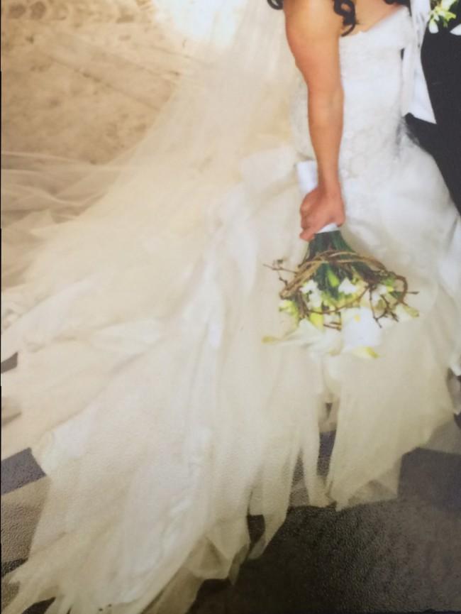 Andrea Gorrie Rebecca Judds JAton Inspired Gown Wedding Dress On Sale 94 Off
