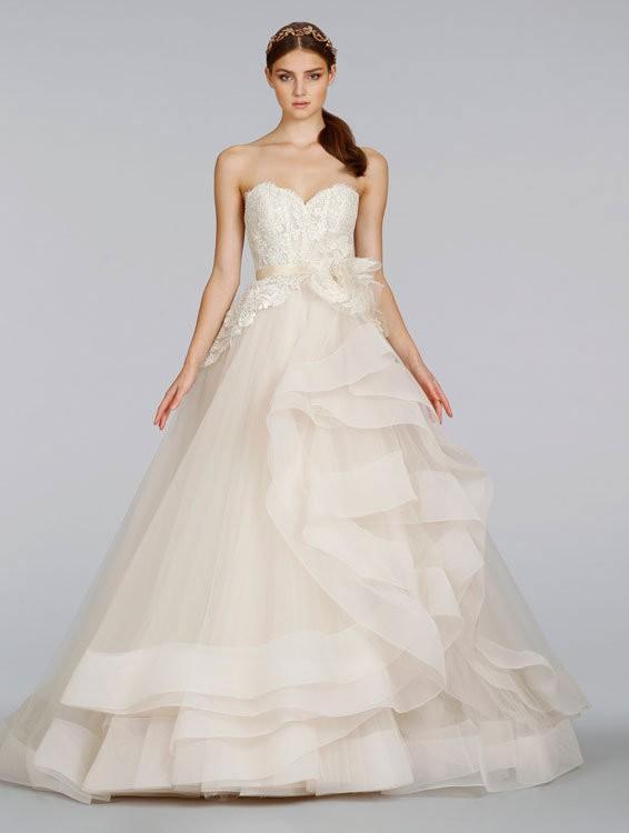Lazaro Wedding Dresses Prices Lazaro 3413 Pre Owned Wedding Dress On ...