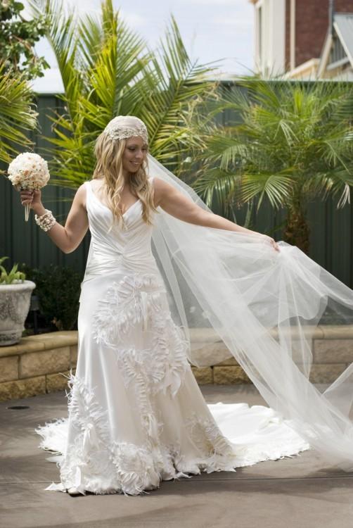 Jaton One Off Design By Jacob Wedding Dress On Sale 88 Off