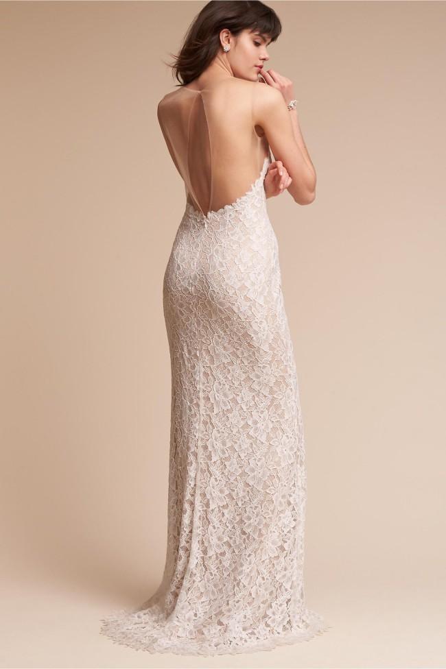 BHLDN Helios Gown by Tadashi Shoji New Wedding Dress on Sale 39% Off ...