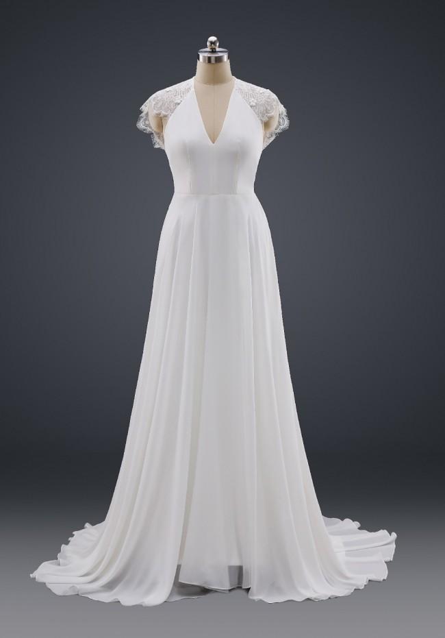 Isabella Couture, Custom Made Boho wedding dress UK3043