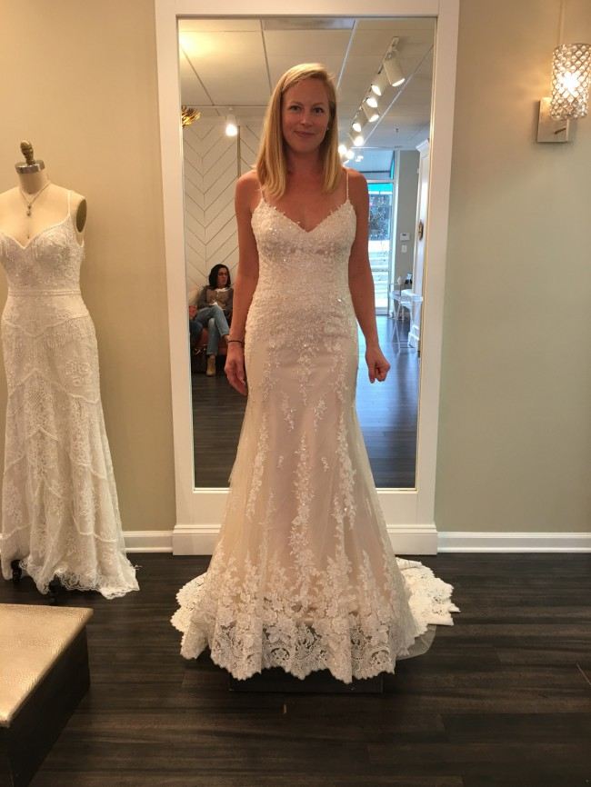 Maggie Sottero Nola New Wedding Dress on Sale 22% Off