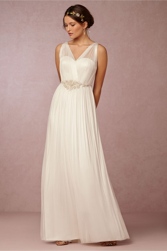Bhldn avril new wedding dress on sale 75 off for Bhldn wedding dress sale