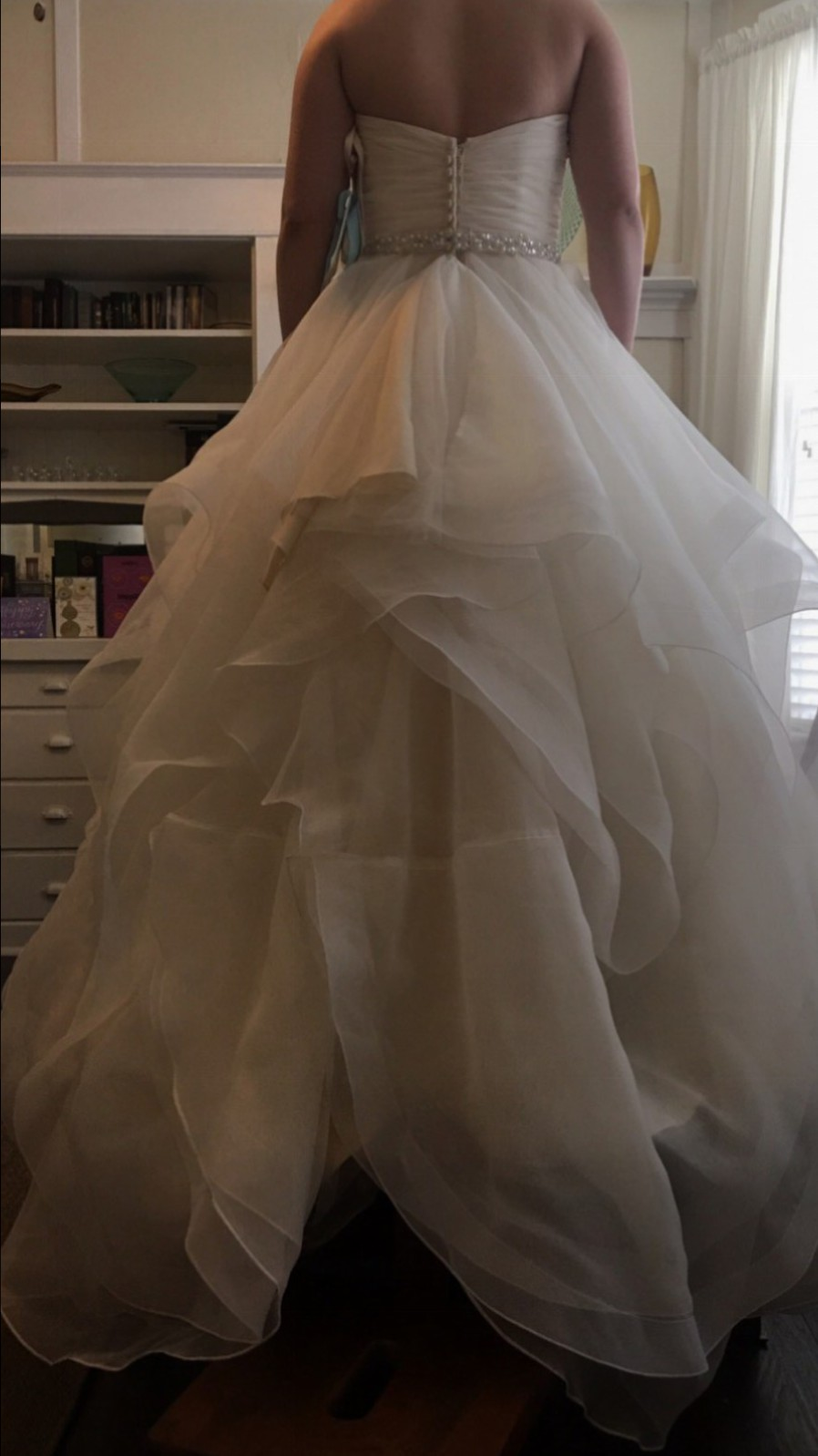 Morilee second hand wedding dress on sale for Second hand mori lee wedding dresses